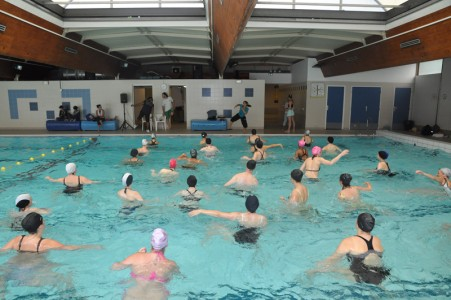 Zumba richard dell 39 agnola maire de thiais vice for Piscine thiais