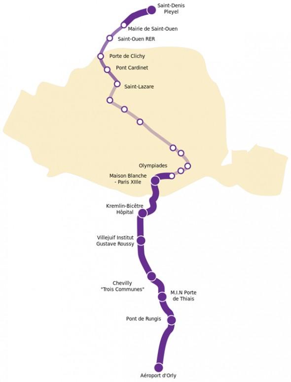 les gares de la ligne 14 le projet avance richard dell 39 agnola maire de thiais vice. Black Bedroom Furniture Sets. Home Design Ideas